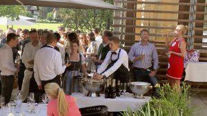 Champagner-Empfang Kitchenparty 2017 - FormumGenussAlpen
