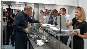 Alain Weissgerber bei der  Kitchenparty 2017 - FormumGenussAlpen