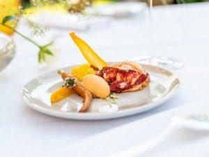 Europäischer Hummer - Karotte - geforenes Thay Curry
