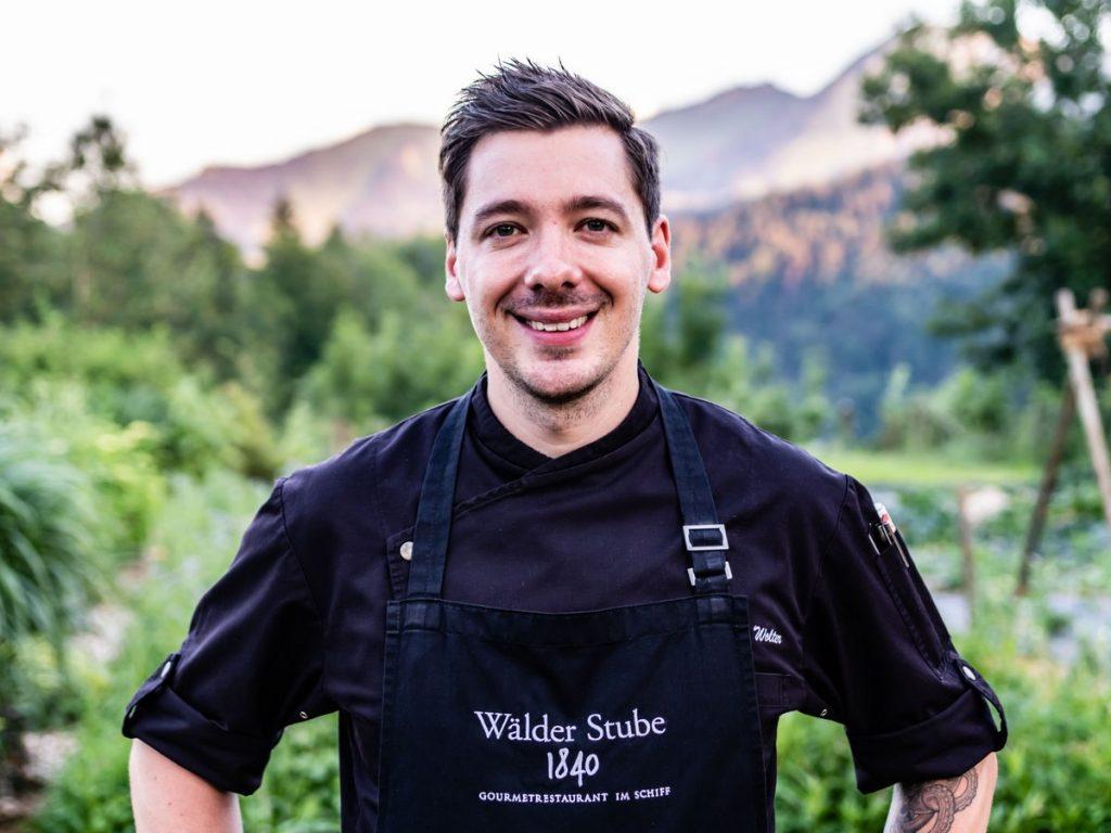 Küchenchef Benjamin Wolter