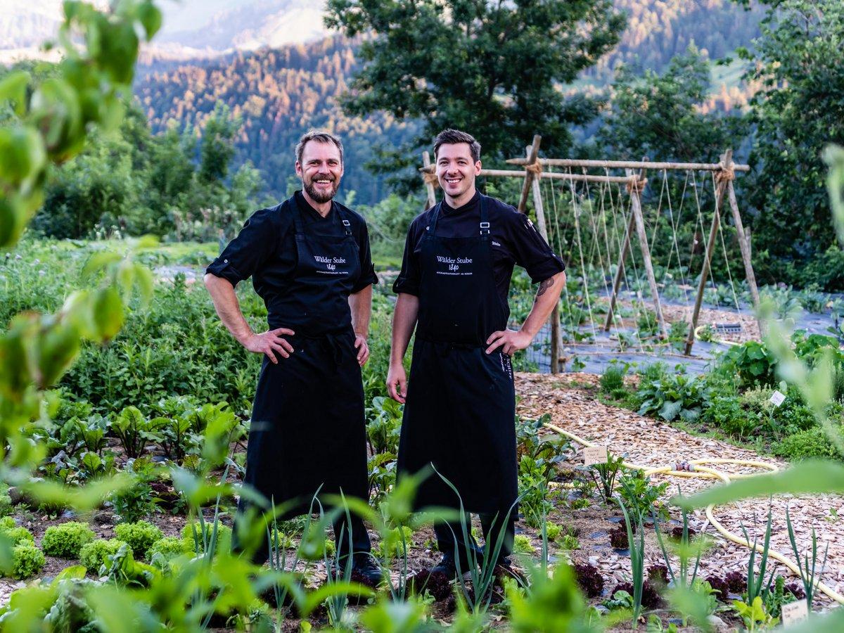 Unsere Küchenchefs - Bernd Reimer und Benjamin Wolter